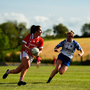 Ciara O'Sullivan of Cork in action against Roisin Tobin of Waterford during the TG4 Munster Ladies Senior Football Championship Round 2 at Cork Institute of Technology in Cork. Photo by Eóin Noonan/Sportsfile