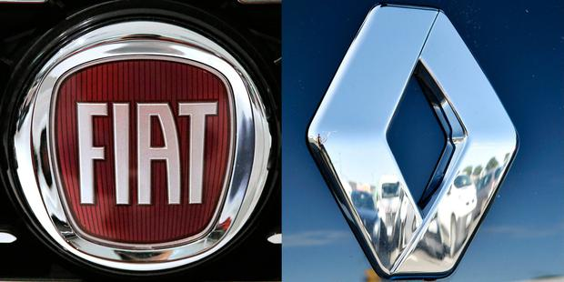 Talks between Fiat and Renault have accelerated in recent days. Photo: AFP/Getty Images