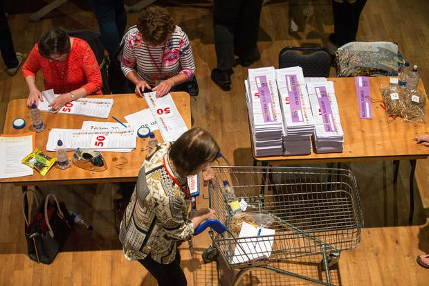 Different issues: Voters are often more experimental at local and European Parliament elections. Photo: Mark Condren