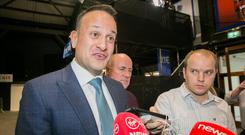 'This was a moment for the electorate to take decisive action and send a message to Leo Varadkar and his Government that nothing about the past few years has been acceptable.' Photo: Gareth Chaney, Collins