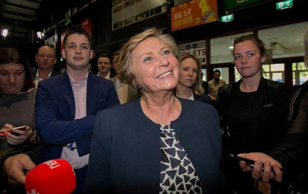Former Tánaiste Frances Fitzgerald's election in the capital will leave a space in Dublin Mid-West. Photo: Gareth Chaney, Collins