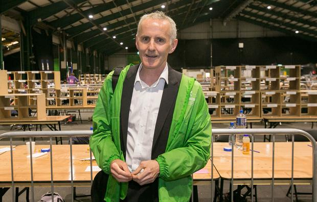 The Green Party's Ciaran Cuffe
