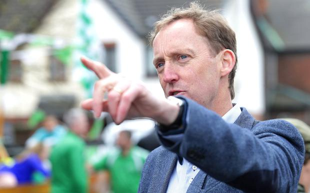 Fianna Fáil's Barry Andrews is in the running for a seat. Photo: Damien Eagers/INM