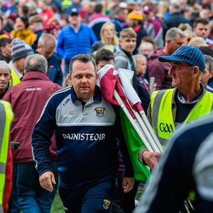 Wexford manager Davy Fitzgerald following the Leinster GAA Hurling Senior Championship Round 3A match between Galway and Wexford at Pearse Stadium in Galway. Photo by Stephen McCarthy/Sportsfile