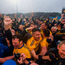 Roscommon players and supporters celebrate win over Mayo