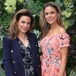 Avila and Rosalind Lipsett at the launch of the new FIRE Restaurant and Lounge on Dawson Street. Picture: Leon Farrell/Photocall Ireland