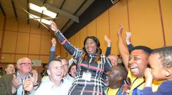 Ireland Gogglebox Star Yemi Adenug Fine Gael Elected has been elected to Meath County Council Photo: Seamus Farrelly