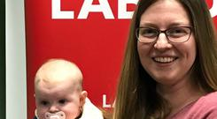 New Labour councillor Ciara Galvin – who campaigned with daugher Eabha – won in Celbridge, Co Kildare
