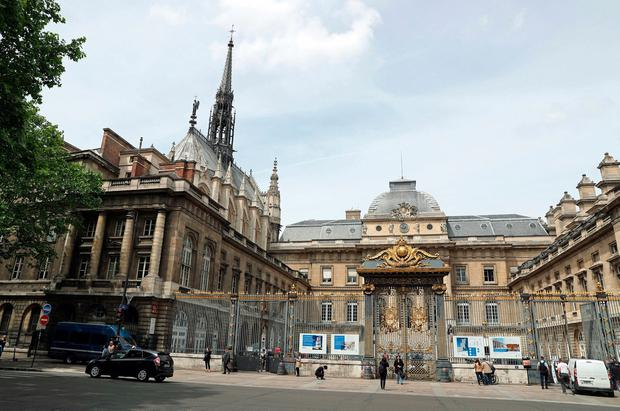 A general view of the Palais de Justice de Paris, where the trial of Ian Bailey will take place, who is accused of the murder of Sophie Toscan du Plantier. Photo: Steve Parsons/PA Wire