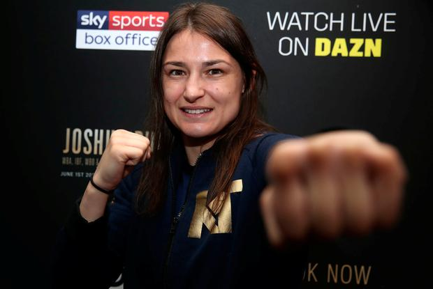 Katie Taylor eyes glory in showdown with Delfine Persoon for undisputed title