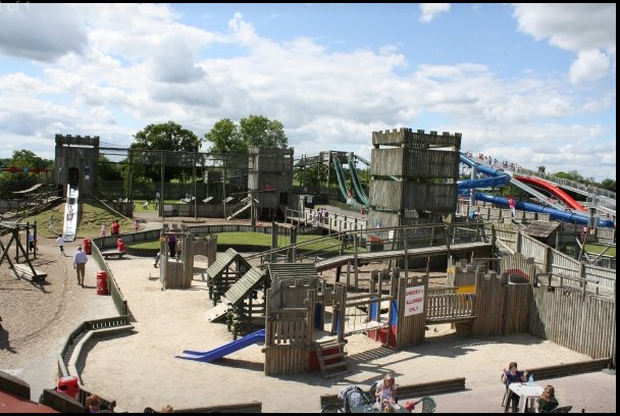Fort Lucan is one of Ireland's most popular adventure centres