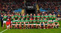 The Mayo panel ahead of Roscommon defeat