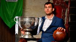 Pictured at Drimnagh Castle in Dublin today, at the launch of this years Bord Gáis Energy GAA Legends Tour Series at Croke Park, is Donegal's Eamon McGee. Photo: David Fitzgerald/Sportsfile
