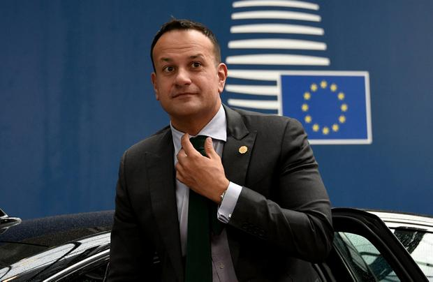 Taoiseach Leo Varadkar arrives ahead of a European Union leaders summit to discuss who should run the EU executive for the next five years, in Brussels. Photo: John Thys/Pool via REUTERS