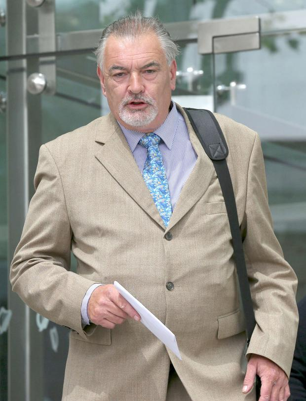 Journalist Ian Bailey is on trial in France for the murder of Sophie Toscan du Plantier. Picture: Collins