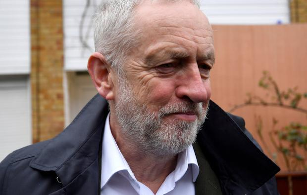 Strategy: Jeremy Corbyn said his priority would be fighting a general election. Photo: Reuters