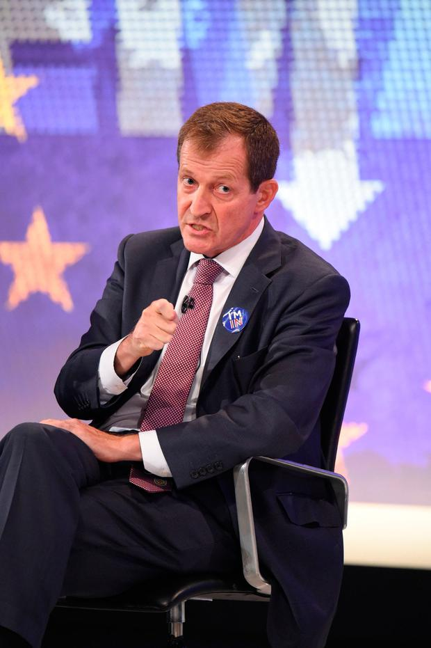 Booted out: Alastair Campbell has been expelled from the Labour Party after admitting he voted for the Liberal Democrats. Photo: PA