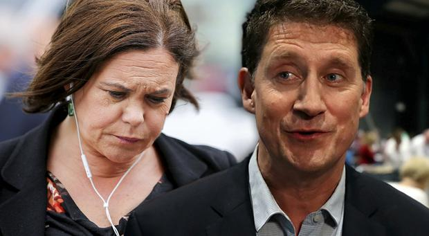 Mary Lou McDonald's Sinn Fein lost a total of 78 seats, while the Green Party under Eamon Ryan's leadership gained 49