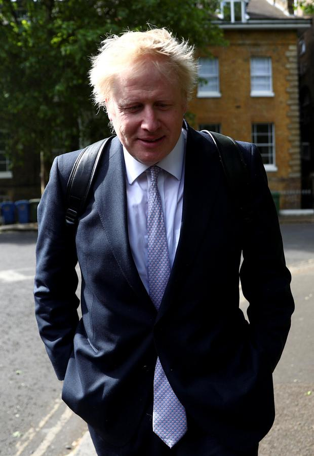 Boris Johnson is a key contender in the race to succeed Theresa May as Tory party leader. Photo: Reuters/Hannah Mckay