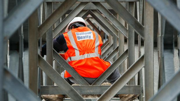 Balfour Beatty CLG directors said that 2017 had been a 'challenging year' for the company. Photo: PA