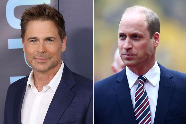 Rob Lowe found Prince William's hair loss traumatic