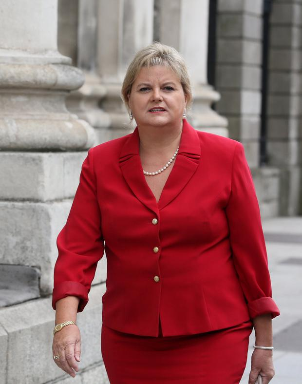 Court appeal: Angela Kerins claimed she lost her job as Rehab Group chief executive and had her constitutional rights breached by members of the Public Accounts Committee. PHOTO: COLLINS COURTS