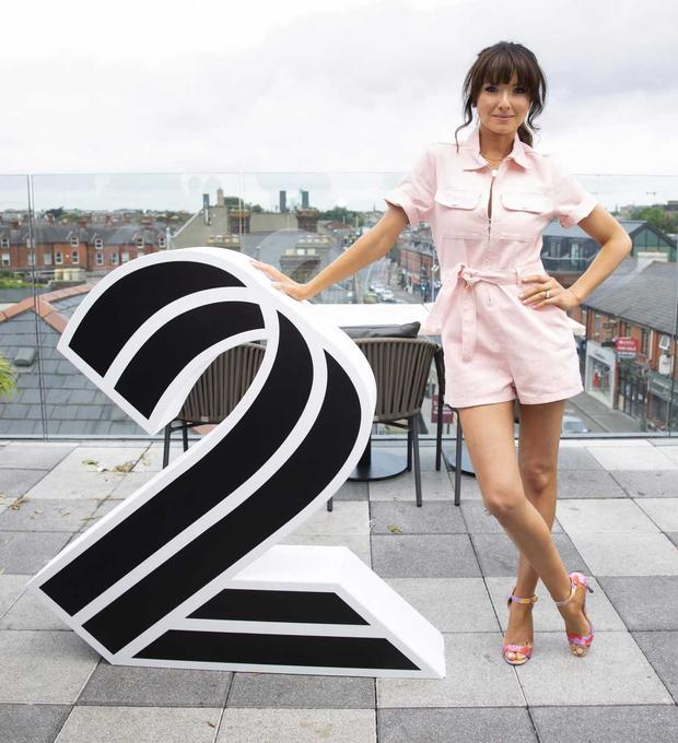 Jennifer Zamparelli at the unveiling of new 2FM shows and presenters at The Devlin Hotel. PHOTO: Tony Kinlan