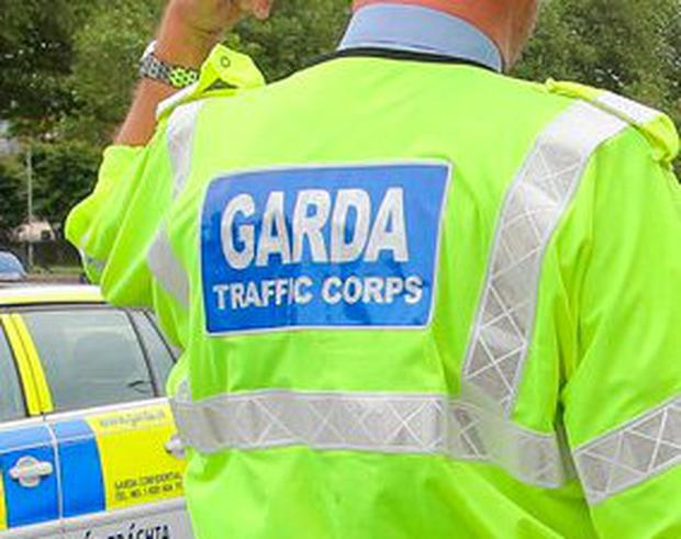 Garda traffic corps Photo: Frank Mc Grath