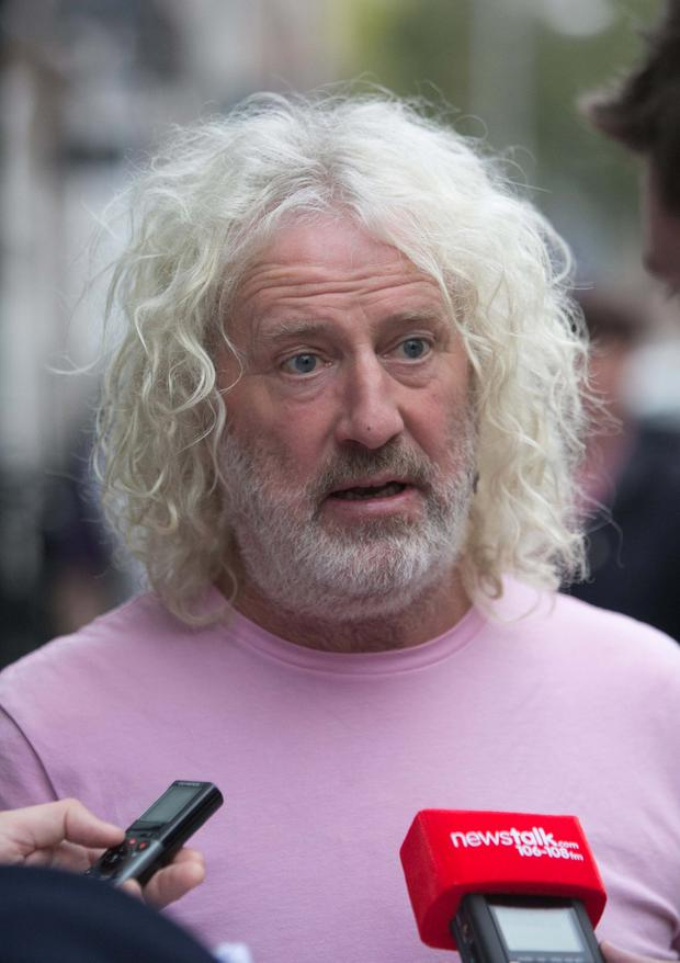 Mick Wallace accrued 4,000 votes in Clare, despite the county being a fair distance from his home base of Wexford. Photo: Gareth Chaney Collins