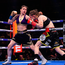 Katie Taylor, left, and Delfine Persoon during their Undisputed Female World Lightweight Championship fight at Madison Square Garden in New York, USA. Photo by Stephen McCarthy/Sportsfile