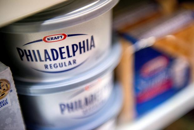 Philadelphia cheese has annual sales of about €1bn. Photo: David Paul Morris/Bloomberg