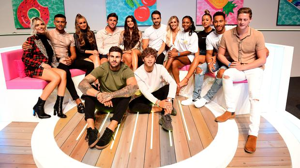 Love Island contestants at the Love Island Live event at the ExCel, London (Ian West/PA)
