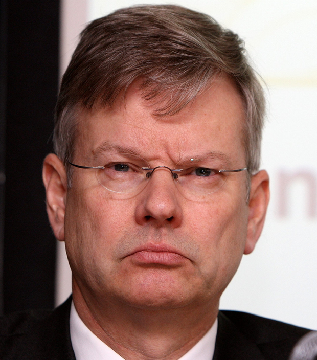 Post puzzle: Stefan Gerlach (pictured) said Sharon Donnery's profile was 'excellent but apparently not good enough to be appointed Governor'. Photo: Tom Burke