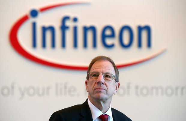 Reinhard Ploss, CEO of German semiconductor manufacturer Infineon. Photo: REUTERS/Michael Dalder/File Photo