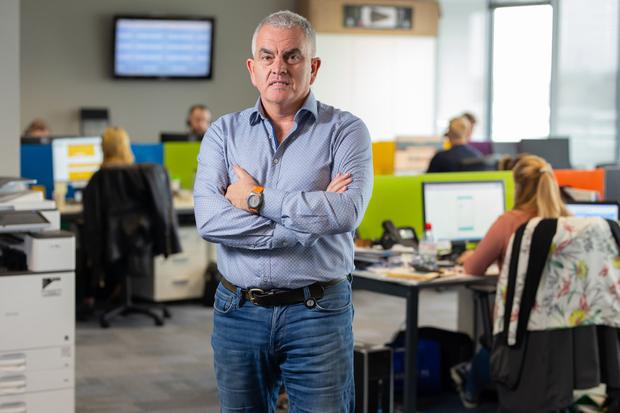 Held back: Paul Hackett says insurance costs have prevented him from taking on more staff. Photo: Owen Breslin