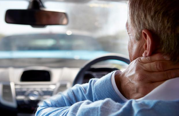 Most people feel €6,500 is a fair amount for whiplash injuries, €10,000 less than the current average award amount. Stock photo: Depositphotos