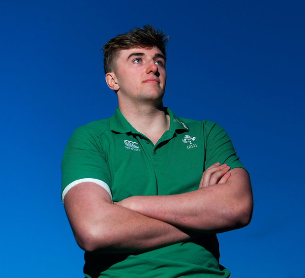 Ireland U-20 captain Charlie Ryan. Photo by Piaras Ó Mídheach/Sportsfile