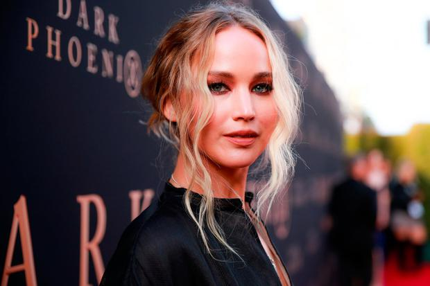 Jennifer Lawrence attends the premiere of 20th Century Fox's