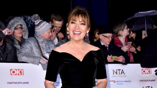 Lorraine Kelly attending the National Television Awards (Matt Crossick/PA)