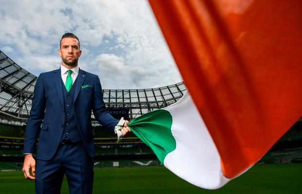 Brighton centre-back Shane Duffy says Mick McCarthy has given everyone in the Ireland set-up 'a fresh star. Photo by Stephen McCarthy/Sportsfile