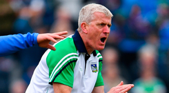 John Kiely's Limerick are strong favourites to beat Clare. Photo by Ramsey Cardy/Sportsfile