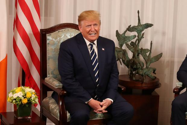 'Trump's scornful attitude to proven allies has grated – but he is still welcome.' Photo: Liam McBurney/Pool via Reuters