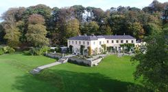 On the market: Bushey Park in Co Wicklow is on sale for more than €12.5m