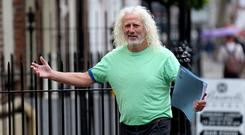 Newly elected MEP: Mick Wallace. Picture: Tom Burke