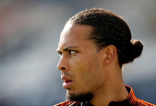 Virgil van Dijk insists he's fully focused on international action after enjoying Champions League success with Liverpool. Photo: Reuters/Carl Recine