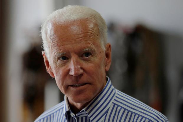 Joe Biden: his 1988 campaign marred by plagiarism claims. Photo: Reuters/Brian Snyder