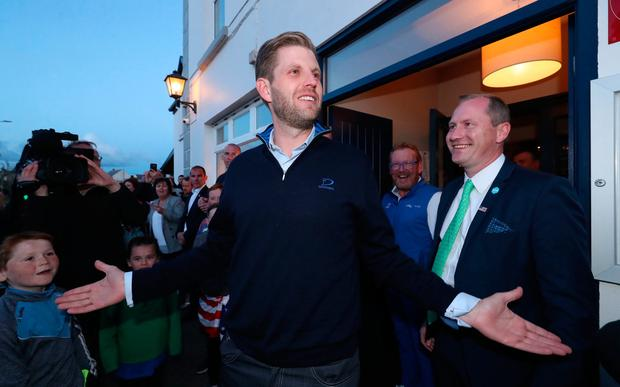 Once in a lifetime experience' - pubs in Doonbeg reeling after Trump
