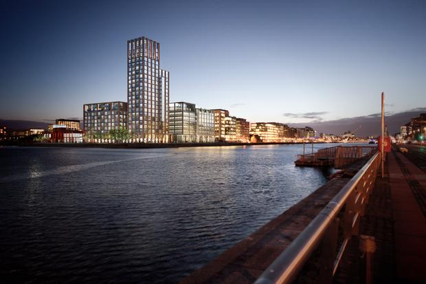 The Capital Dock Development in Dublin