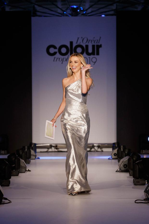 Ruth O'Neill at the L'Oréal Colour Trophy Grand Final 2019. Picture: Andres Poveda