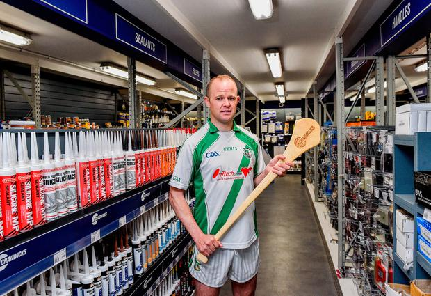 Tommy Walsh, Tullaroan and Kilkennyn pictured at the announcement that Chadwicks are the new sponsor of the Leinster GAA Chadwicks Club Hurling League